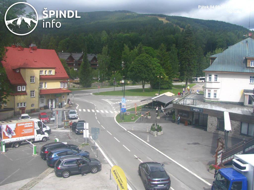 Webcam Špindlerův Mlýn - centrum - 710 m n.m.