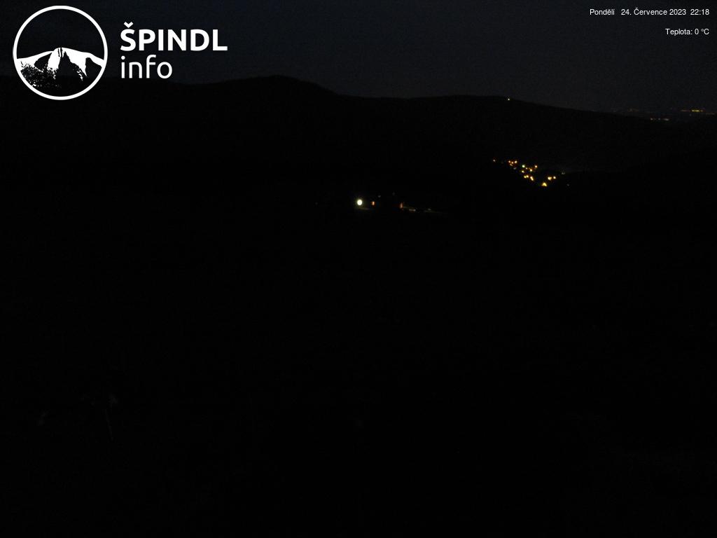 Webcam Skigebiet Spindlerm�hle Chata Vatra - Riesengebirge