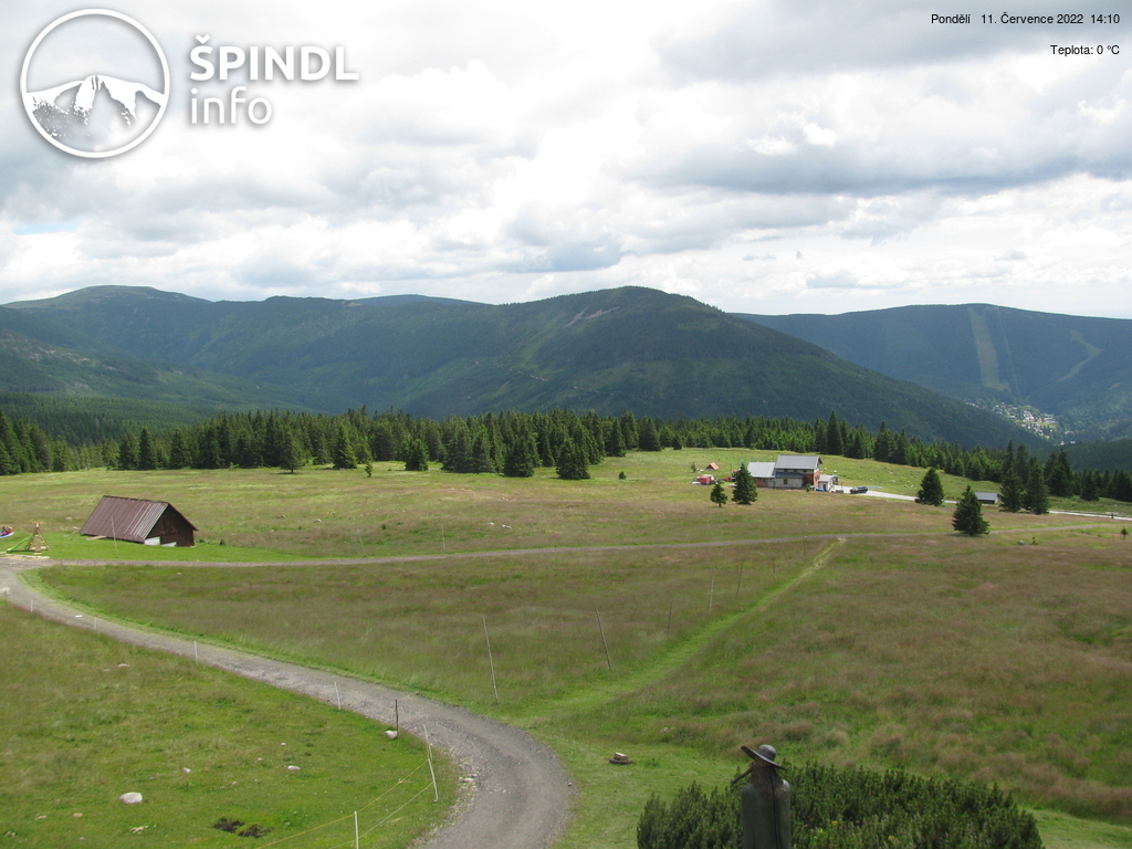Webcam Skigebied Spindleruv Mlyn Chata Vatra - Reuzengebergte