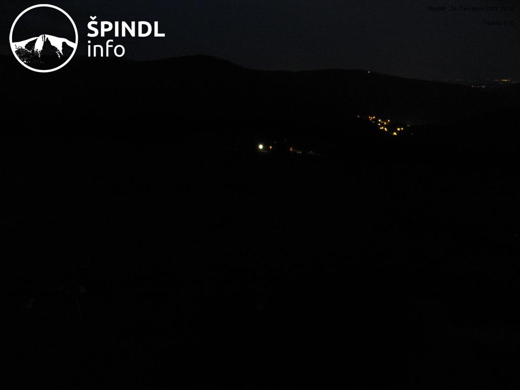 Webcam Ski Resort Spindleruv Mlyn Chata Vatra - Giant Mountains