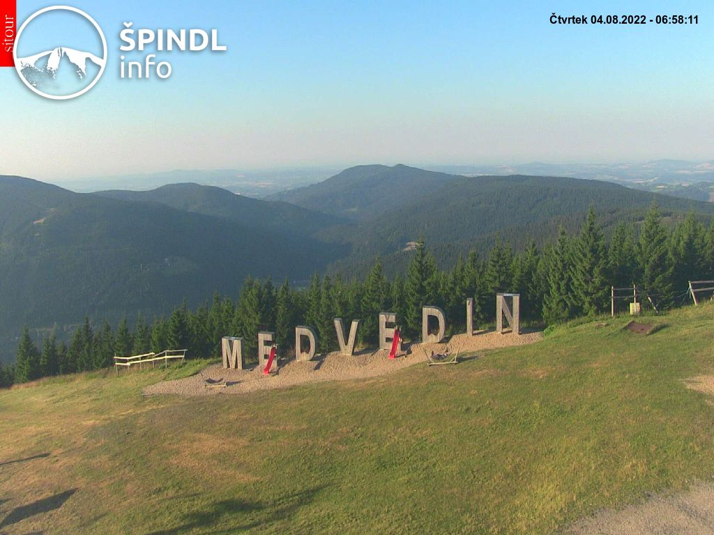 Webcam Ski Resort Spindleruv Mlyn cam 42 - Giant Mountains