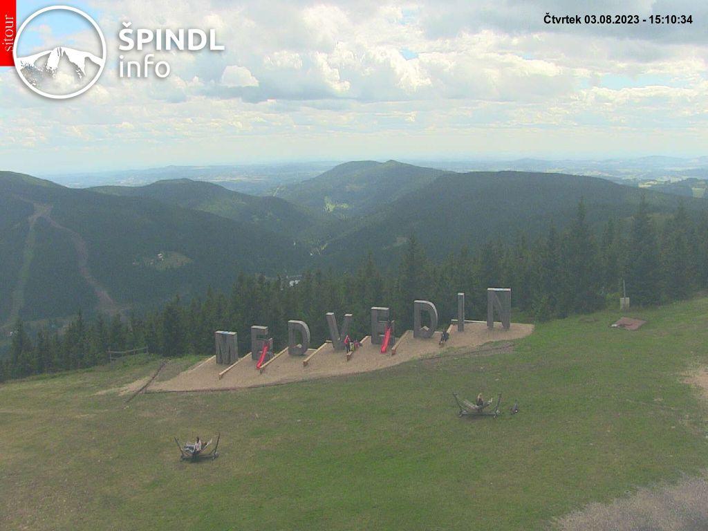 Webcam Skigebiet Spindlermühle Riesengebirge