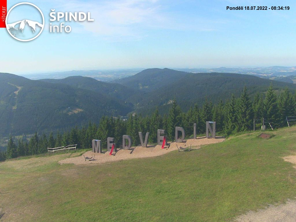 Webcam Skigebiet Spindlermühle cam 38 - Riesengebirge