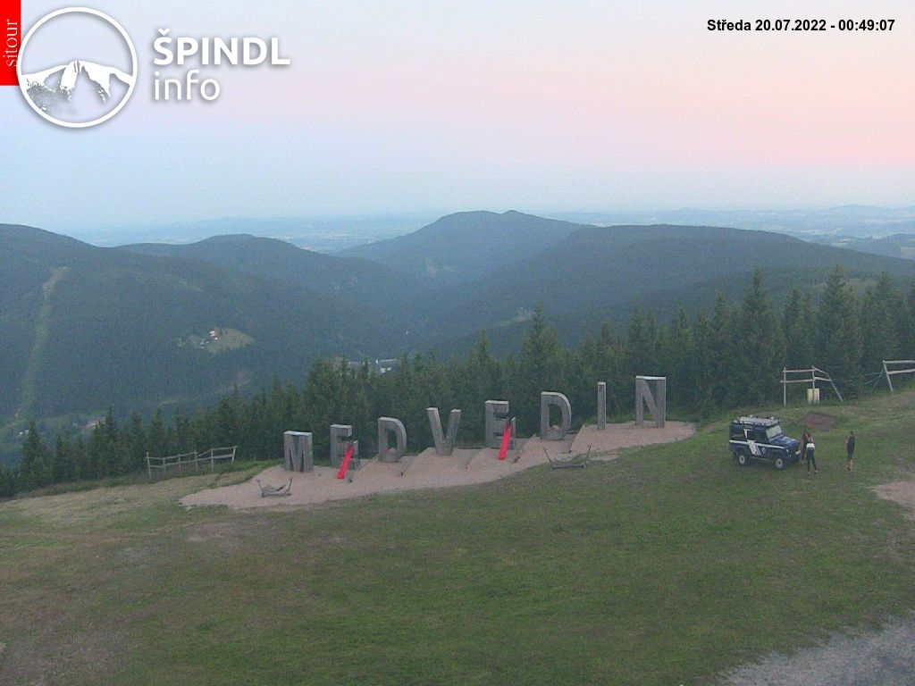 Webcam Skigebiet Spindlermühle cam 42 - Riesengebirge