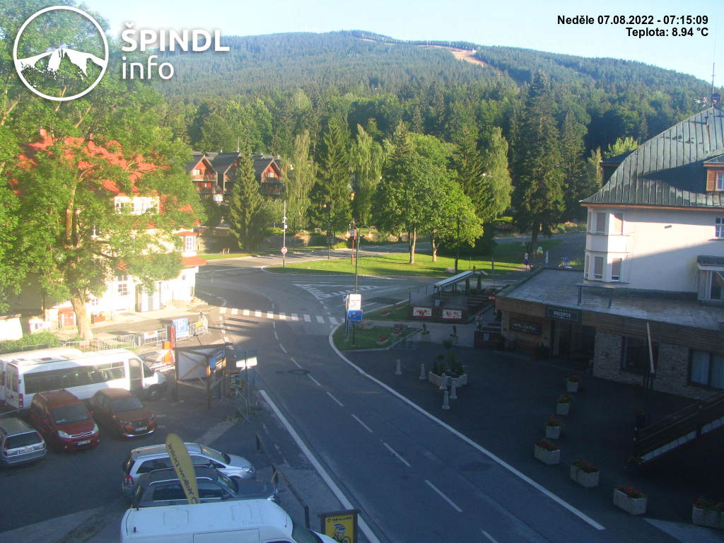 Webcam Ski Resort Spindleruv Mlyn Krause Bauden - Giant Mountains