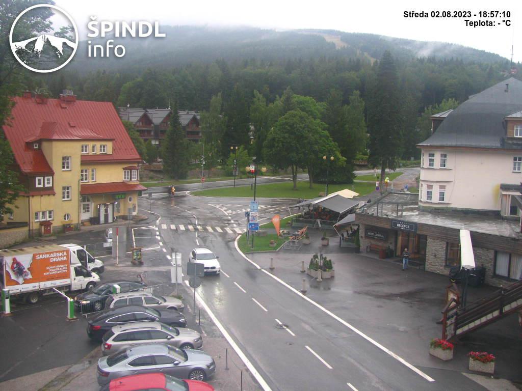 Webcam Ski Resort Spindleruv Mlyn Krause Bauden - Giant Mountains