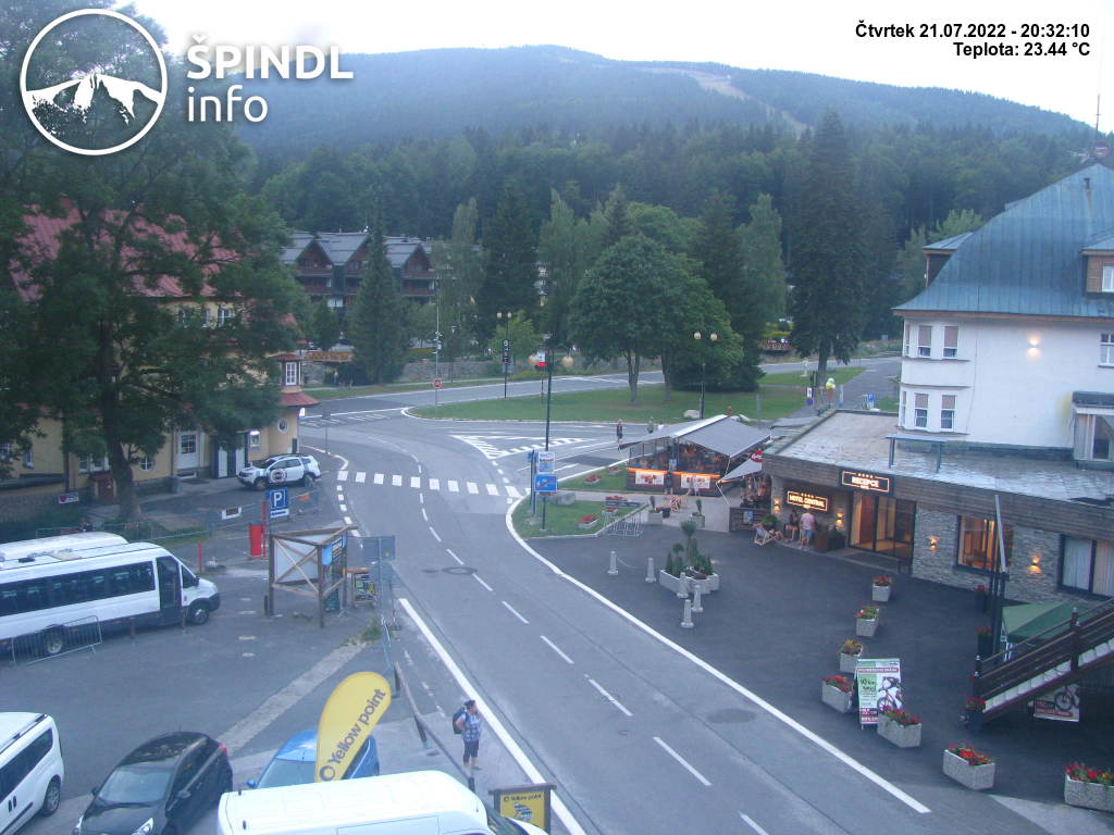 Webcam Skigebied Spindleruv Mlyn Krause Bauden - Reuzengebergte