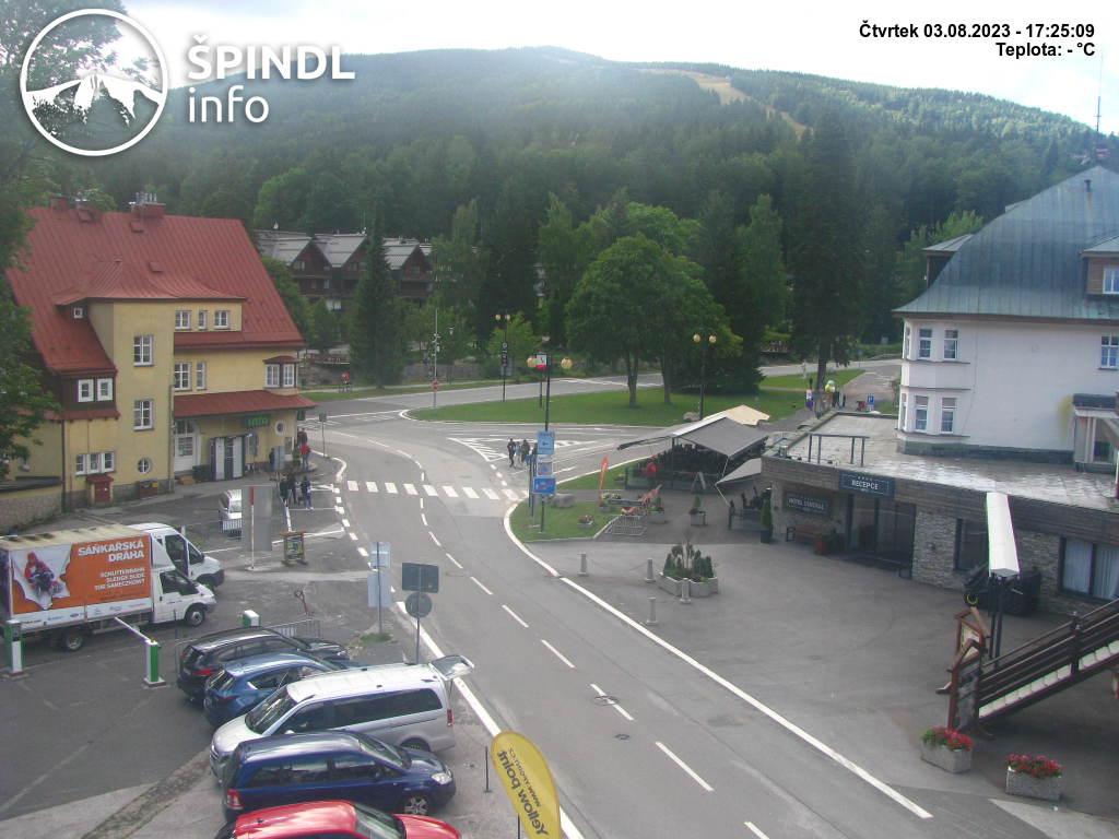Webcam Skigebiet Spindlerm�hle cam 43 - Riesengebirge