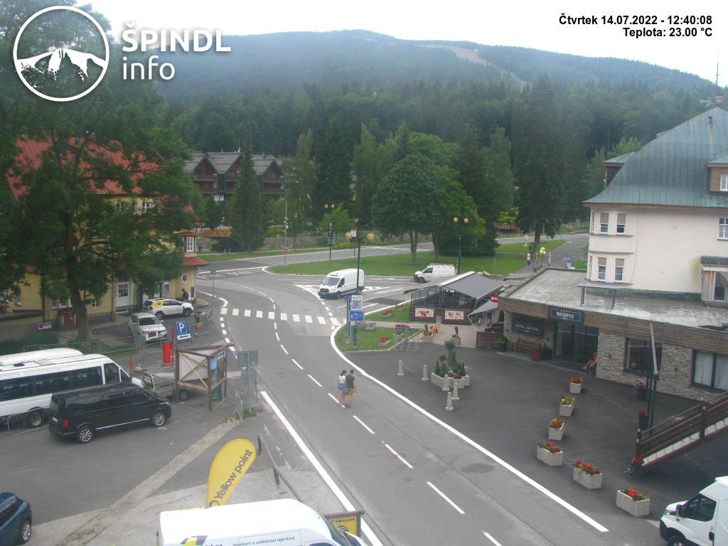 Webcam Ski Resort Spindleruv Mlyn cam 36 - Giant Mountains