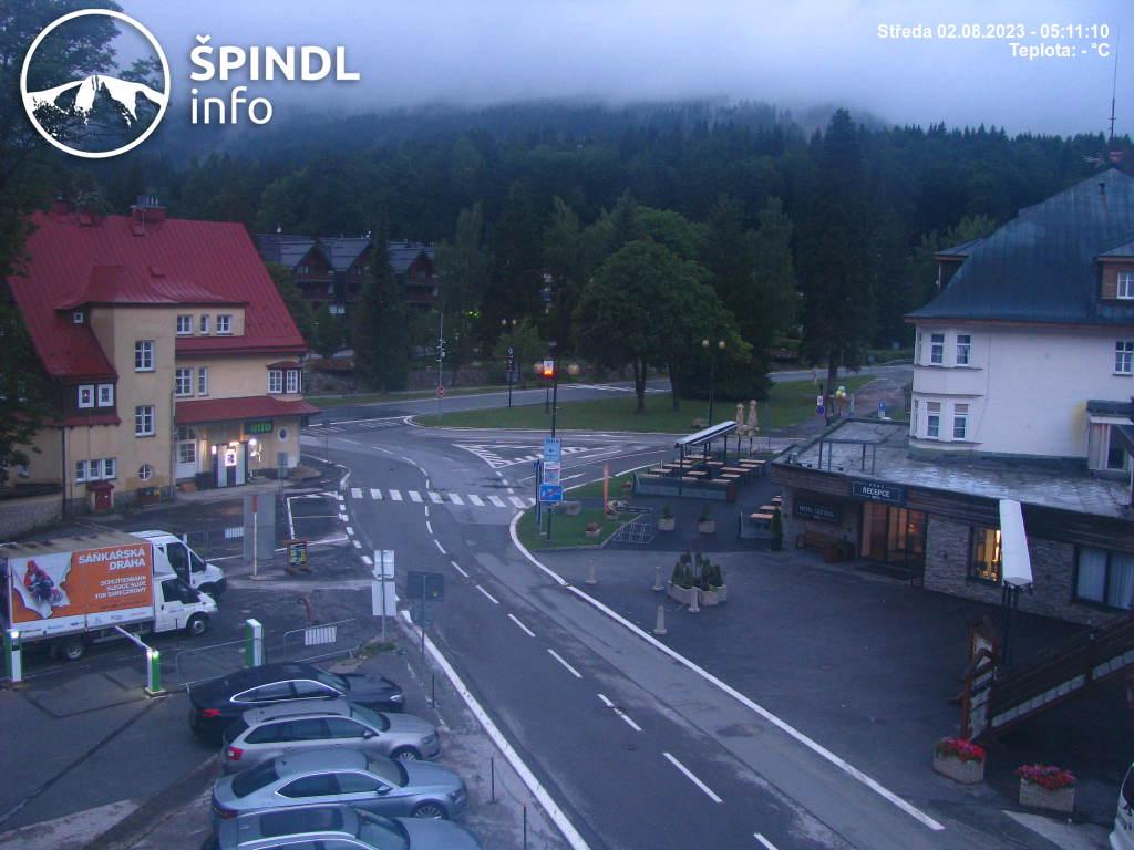 Webcam Skigebiet Spindlermühle cam 43 - Riesengebirge