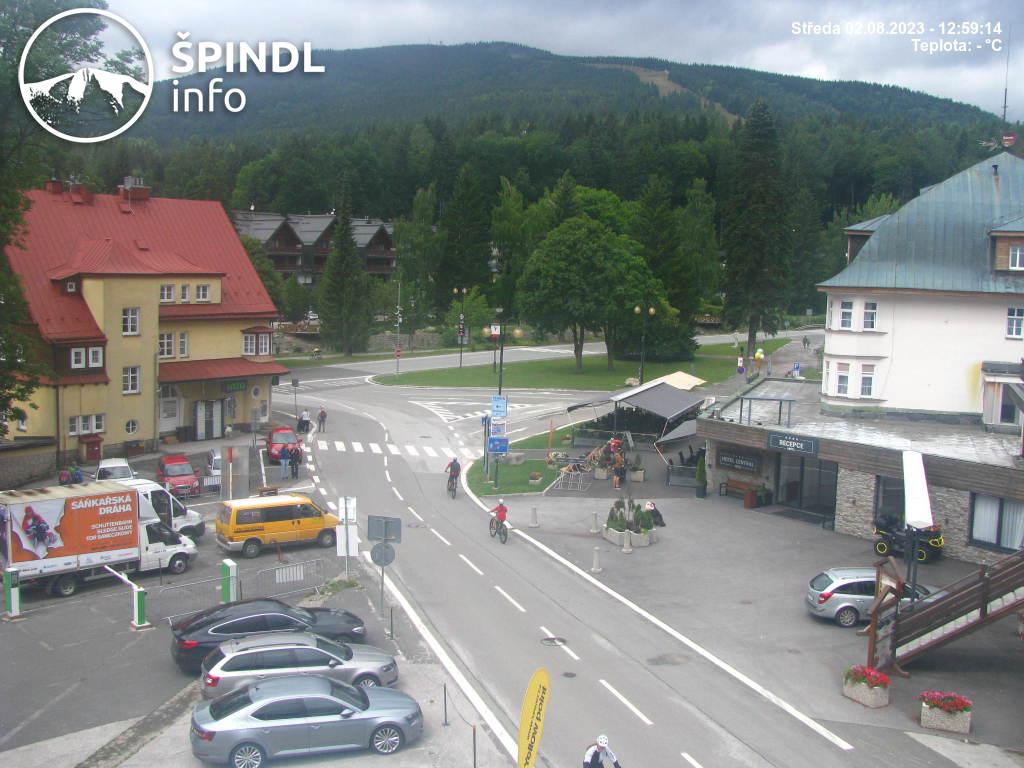Webcam Skigebied Spindleruv Mlyn cam 43 - Reuzengebergte