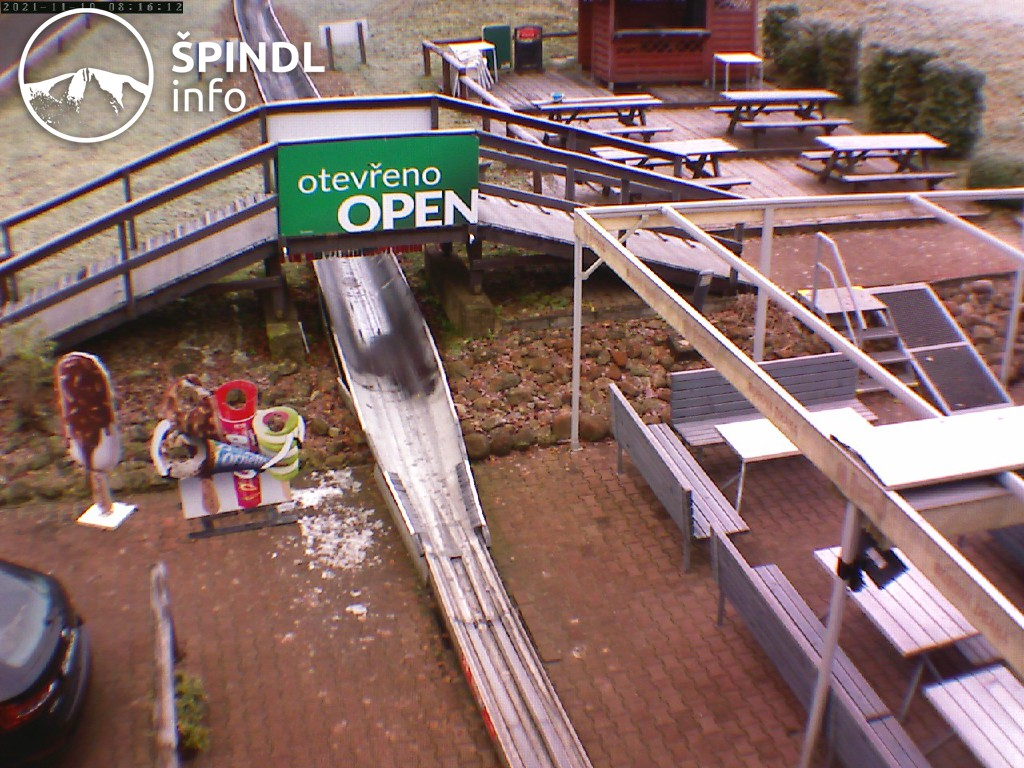 Webcam Bobslydespor Špindlerův Mlýn