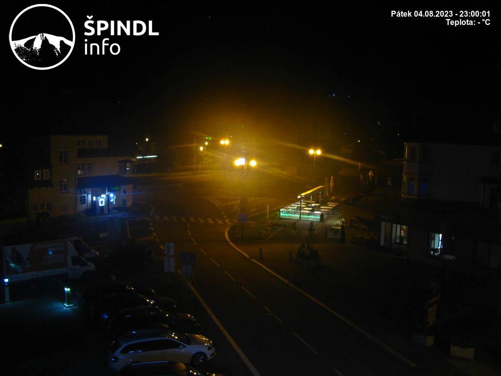 Webcam Skigebiet Spindlermühle Ort - Riesengebirge