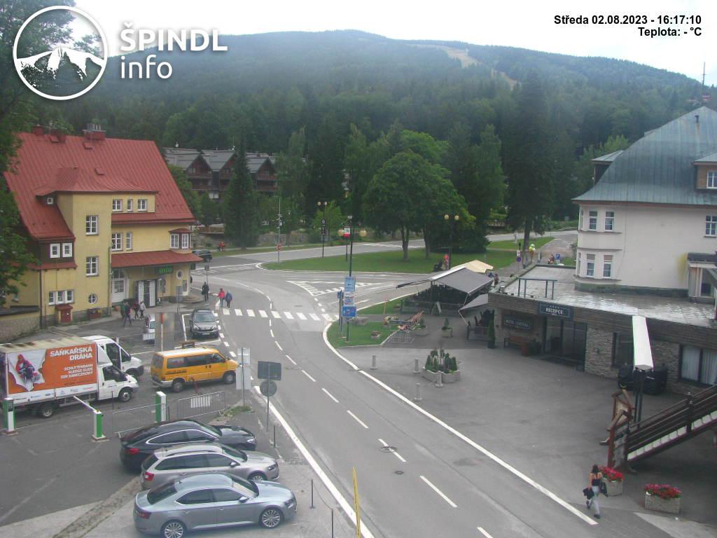 Webcam Ski Resort Spindleruv Mlyn Ort - Giant Mountains