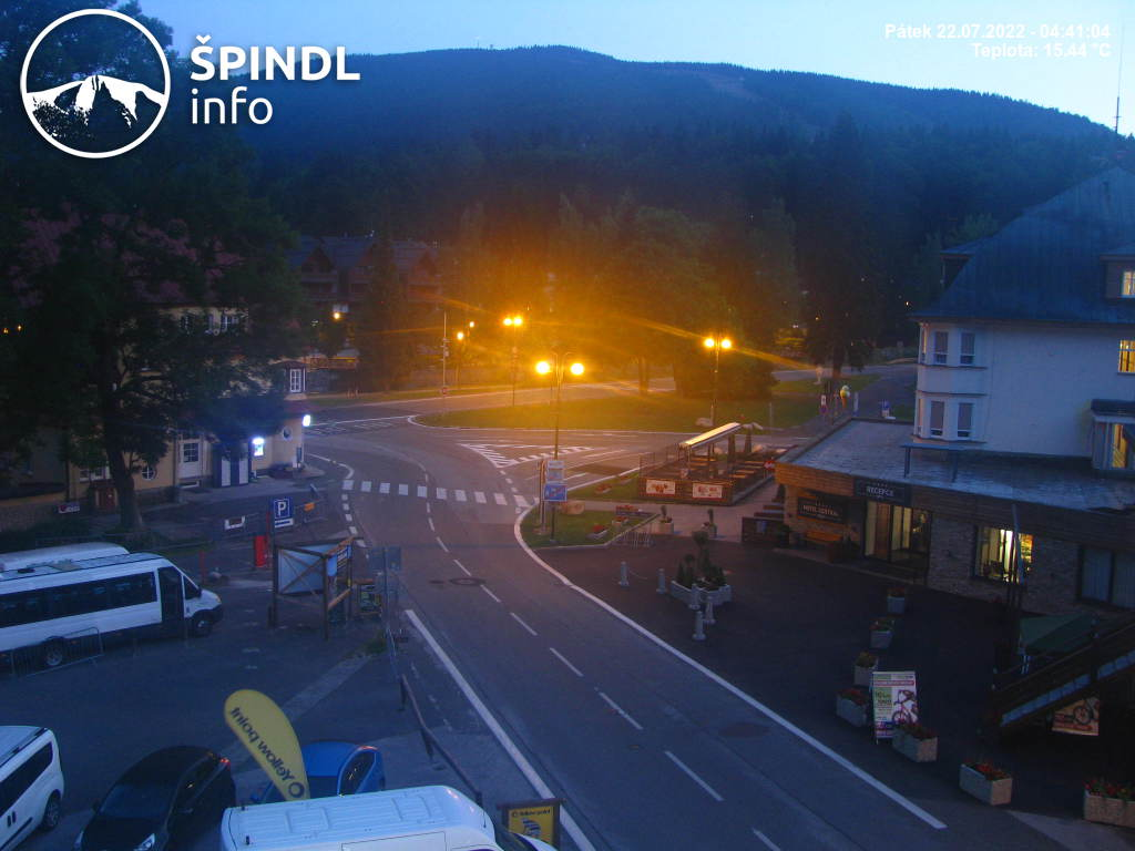 Webcam Skigebied Spindleruv Mlyn Ort - Reuzengebergte