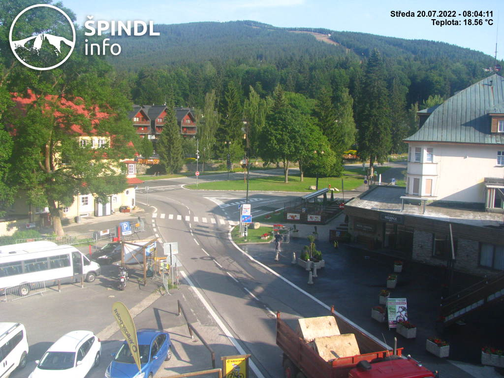 Webcam Skigebied Spindleruv Mlyn Reuzengebergte
