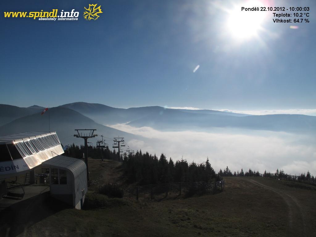 Webcam Riesengebirge - Medvědín