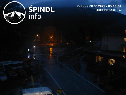Webcam Ski Resort Spindleruv Mlyn Stoh - Giant Mountains
