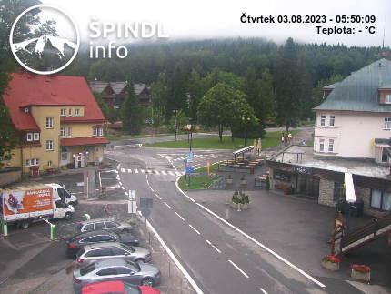 Webcam Ski Resort Spindleruv Mlyn Stoh - Giant Mountains