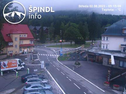 Webcam Skigebiet Spindlermühle Stoh - Riesengebirge