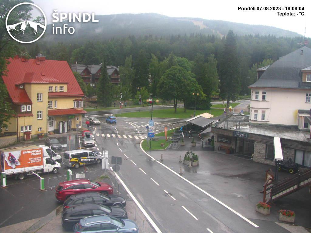 Aktualny stan w Szpindlerowym Młynie – kamera internetowa